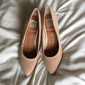 DV Dolce Vita suede blush heels